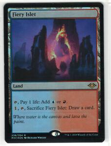The Gathering MTG Modern Horizons Fiery Islet M//NM Magic