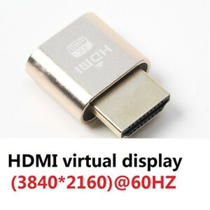 VGA-Virtual-Display-Adapter-HDMI-1-4-DDC-EDID-Dummy-Plug-Display-Emulator-lot