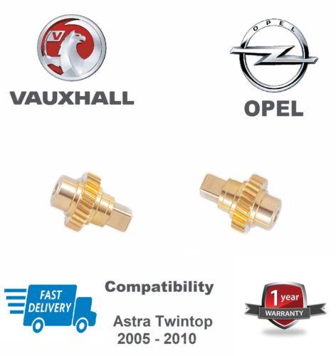 VAUXHALL OPEL ASTRA TWIN TOP TETTO MOTORE winglet Pignone//Ingranaggi In Ottone 1 anno di garanzia.