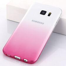 Ultra Fino Antichoque Gradual Gel TPU Funda Parte Trasera Para Samsung Galaxy