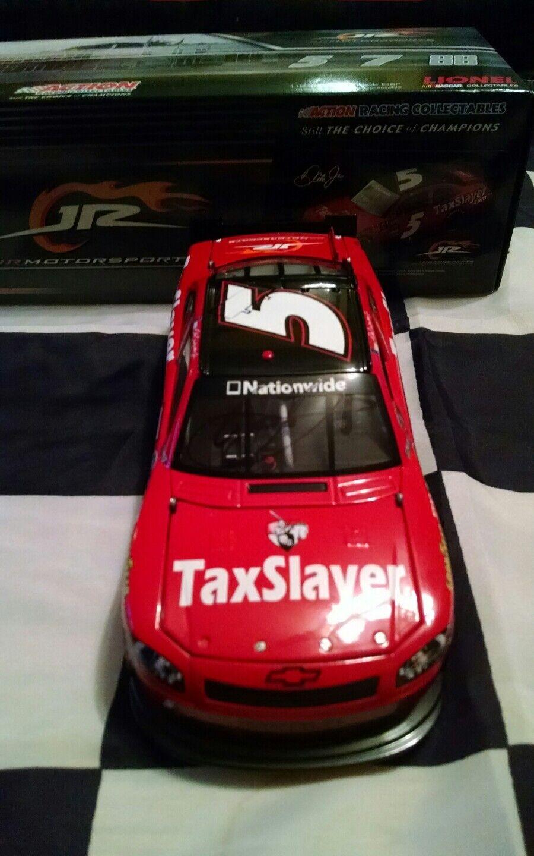 2011 Dale Earnhardt Jr Autographed  5 Taxslayer 1 24