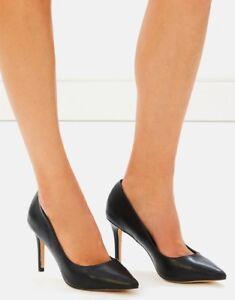 SPURR-Alissa-Pumps-Black-Smooth-Size-AU-US-8