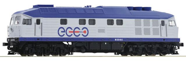 Versandfrei: Roco 52466, Diesellokomotive BR 232, Ecco Rail, Neu und OVP, H0