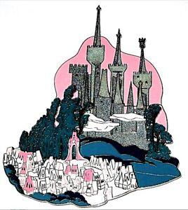 Rare Super Jumbo Le 100 Disney Auction Pin Cinderella Castle 3d Kingdom Ebay