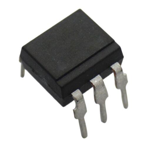 4x TCDT 1102G Fotoaccoppiatore THT canali 1 uscite a transistor uinsul 3.75kV DIP6