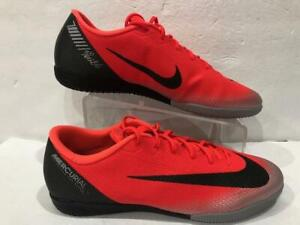 cheap for discount 1fddd 15cba Details about AJ3731-600 Nike MercurialX Vapor 12 Academy CR7 IC Indoor  Soccer Shoes