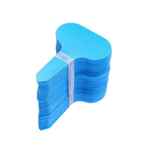 100 pcs Plastic Plant Pot Markers Seed Garden Stake Tags Nursery Labels Tool
