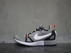 Image is loading Nike-Duel-Racer-Mens-Running-Trainers-Grey-Size-