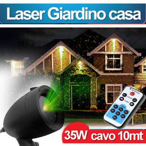 Proiettore Luci Natalizie Per Esterno Ebay.Proiettore Laser Esterno Magia Luci Natale Con Telecomando Illuminazione Stelle Ebay