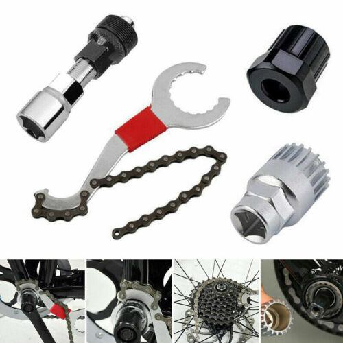 Montage Tretlager 4x Zahnkranzabziehe Kurbel-Abzieher Fahrrad Reparatur Werkzeug