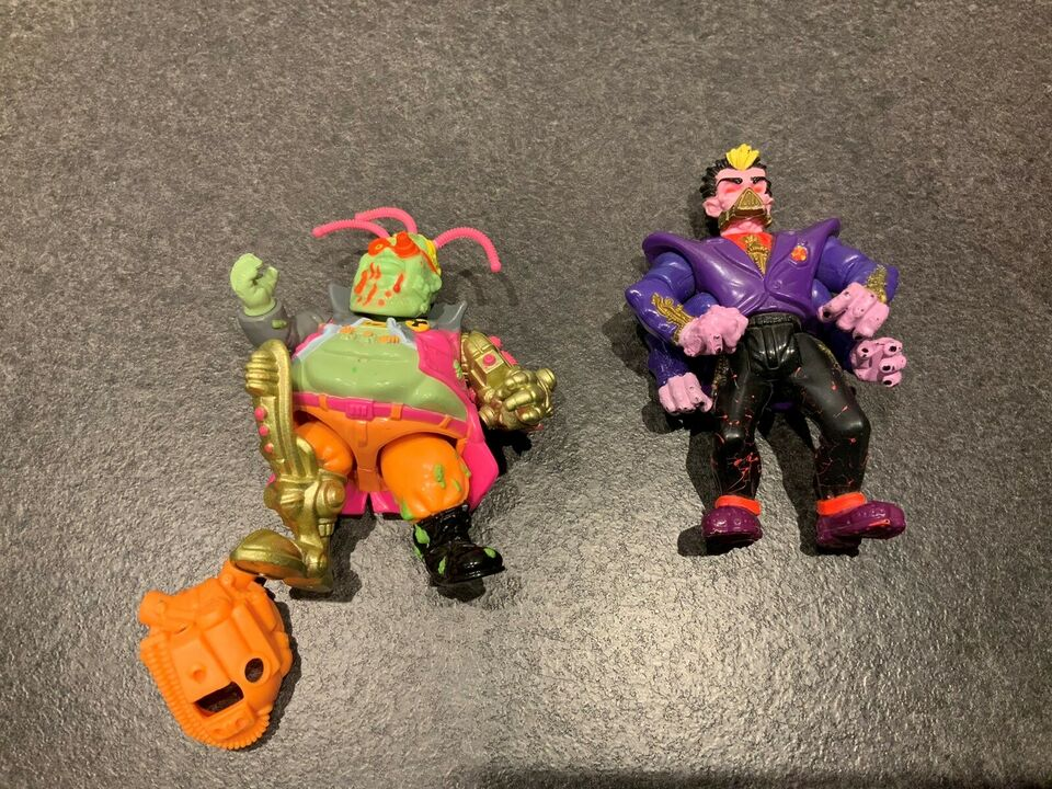 Mighty max og toxic crusaders figurer, Mighty max toxic
