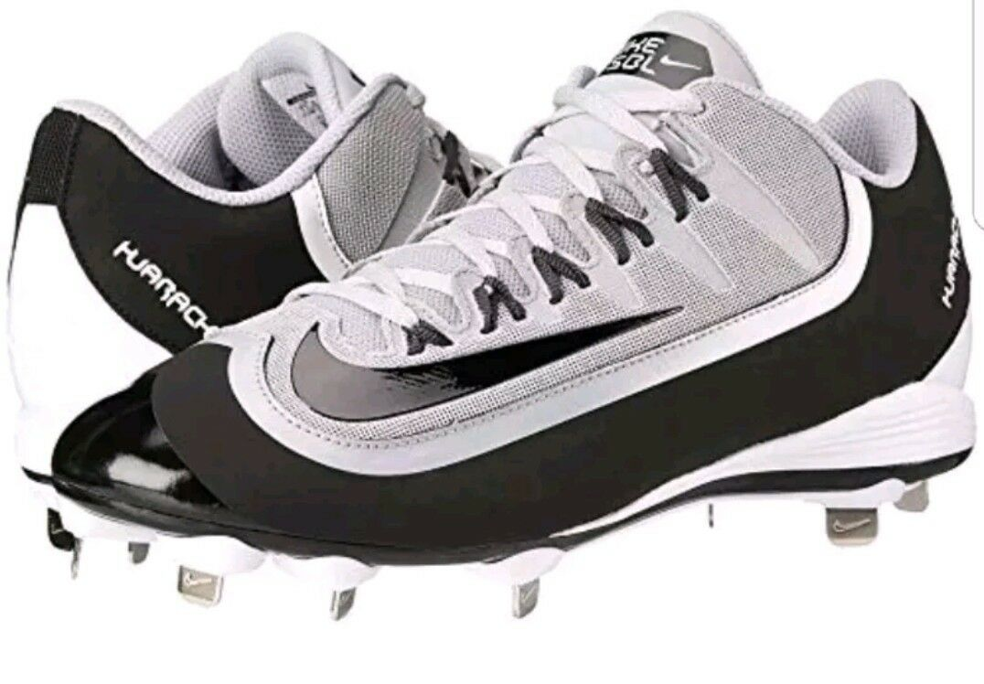 Nike Air huarache 2K mugre pro metal Low hombre 7 807126-001 metal pro Baseball cleats 2b0cd4