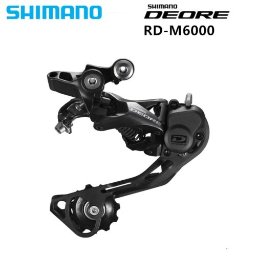 SHIMANO DEORE M6000 Rear Derailleurs Shadow RD-M6000 10S Speed