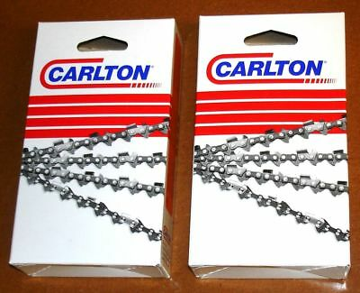 "2-Pack 20/"" Full Chisel Chains 2 for POULAN PRO PP5020AV 3600 3700   72LGX070G"