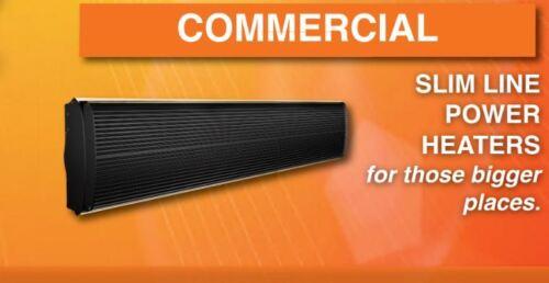 Infrarouge Radiateur 250W-3200W Curve salle de bains contrat Slim Heater