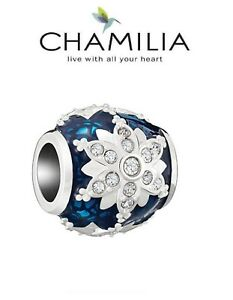 38c288b79 Image is loading Genuine-CHAMILIA-sterling-Silver-amp-Swarovski-Christmas -CRYSTAL-