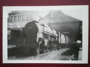 POSTCARD-LONDON-ROYAL-SCOT-LOCO-NO-46166-039-LONDON-RIFILE-BRIGADE-039-AT-PRESTON