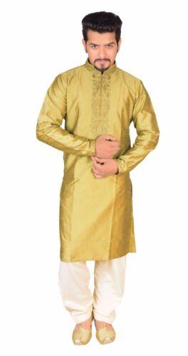 Mens Kurta Salwar Kameez pyjama Bollywood party wedding Fancy dress Sherwani 797