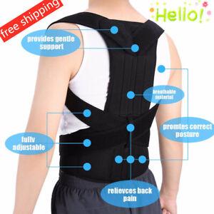 US-Posture-Corrector-Corset-Support-Back-Shoulder-Brace-Belt-For-Men-Women-HP