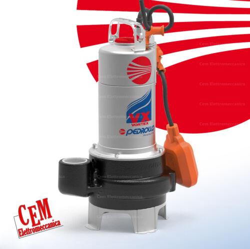 Pompa sommersa per acque luride VXM15//35-N PEDROLLO sommergibile sporche 1,5 HP