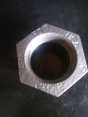 """2-1//2/"""" X 2/"""" Reducing Bushing steel"""
