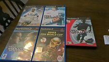 Ps 2 Pes Pro Evolution Soccer  2 3  5  FIFA WORLD CUP 2002 X5 LOT