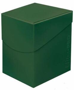 Ultra-pro-Eclipse-100plus-Cubierta-Caja-Bosque-Verde