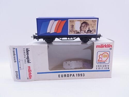KV 098 010 bel Märklin h0 84567 Auto Speciale Europa 1993 Francia in scatola originale