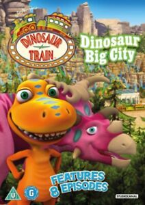 Neuf Dinosaure Train - Big City DVD