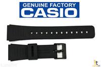 Casio Dbc-150 22mm Original Black Rubber Watch Band Dbc-310 Dbc-81 Dbc-w150