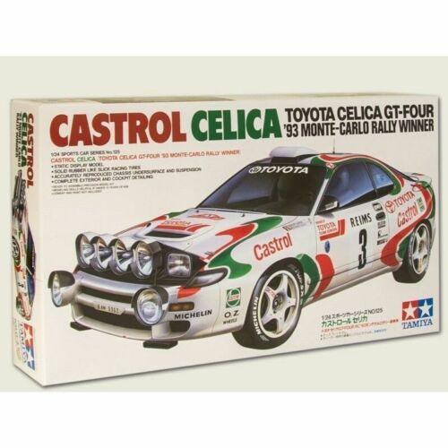 TAMIYA 1//24 CARS CASTROL CELICA car model kit