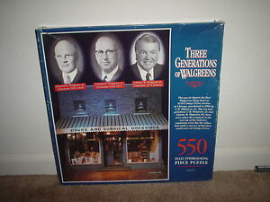 Image Is Loading 550 Pc Walgreens 1993 Three Generations Of