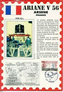 Ariane V 56 Arsenne France // Satellite Arsenne Lancement Ariane Kourou 1993 La Qualité D'Abord