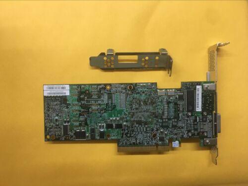 LSI//DELL MegaRAID 9280-4i4e 4 Int 4 Ext SAS//SATA 6G RAID Card DELL 55G6T+battery