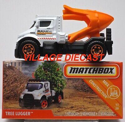 Matchbox 2019 Tree Lugger white