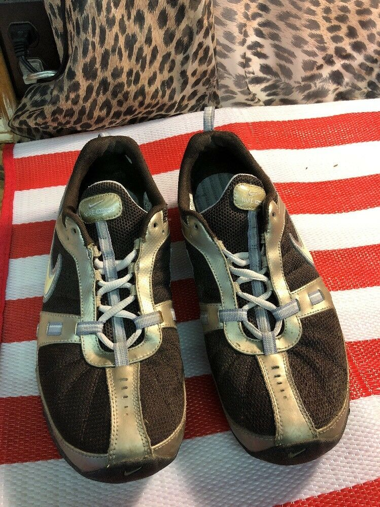 nike nike nike reax formazione scarpe taglia 11 donne noi (317109-211 brown / blu) | La prima serie di specifiche complete per i clienti  | Scolaro/Ragazze Scarpa  | Uomini/Donna Scarpa  | Uomo/Donna Scarpa  7b6146
