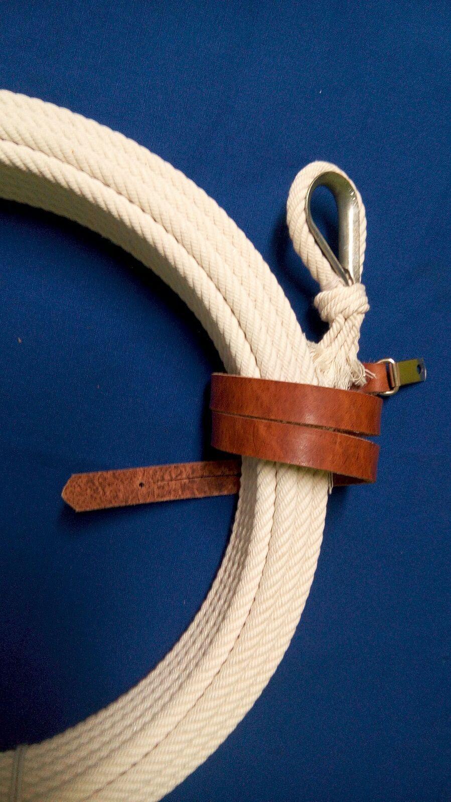 68 FT. 3 8  width   ROPE RIATA CHARRO SOGA COTTON LARIAT LASSO LASO REATA lazo  up to 60% off