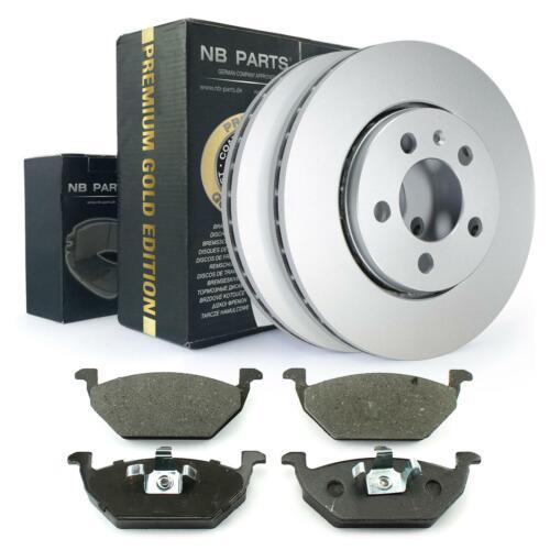 Bremsbeläge Bremsklötze vorne Audi Seat Skoda VW Bremsscheiben belüftet 256mm