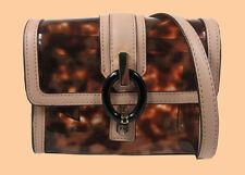 DIANE VON  FURSTENBERG 'Sutra' Mini Tortoise-Print PVC X-Body Bag Msrp $165.00