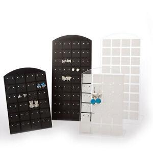 Earring-Holder-72-Holes-Organizer-L-shape-Stand-Ear-Studs-Display-Storage-Rack