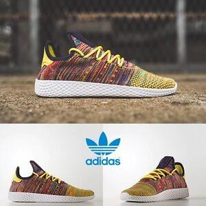 f6d90e4ef2afc Adidas x Pharrell Williams PW Tennis HU Unisex Running Yellow BY2673 ...