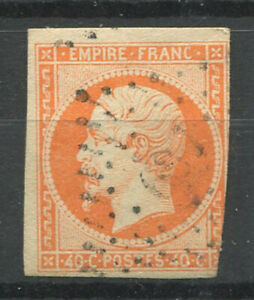 France-1853-Yv-16-Oblitere-20-40-c-Napoleon-III