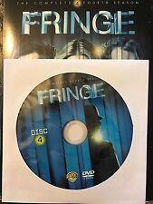 Fringe - Season 4, Disc 4 REPLACEMENT DISC (not full season)