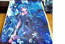 Miku Hatsune Vocaloid Anime Bettdeckenbezug Bettwäsche Polyester 150x220cm