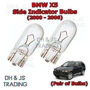 2x Fits BMW X5 E53 Genuine Osram Original Rear Indicator Light Bulbs Pair