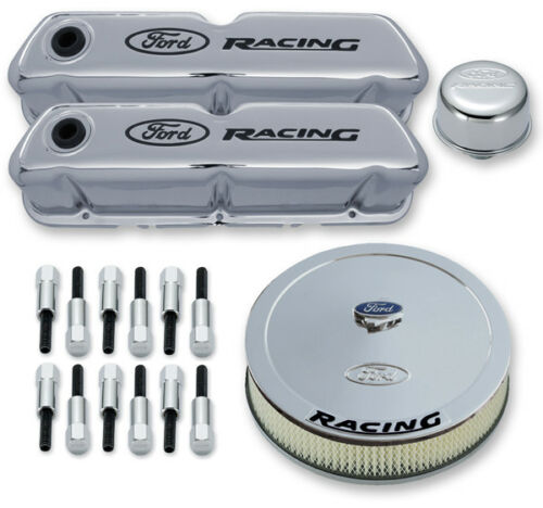 Chrome Ford 289//302//351W Ford Racing Proform 302-510 Engine Dress Up Kit