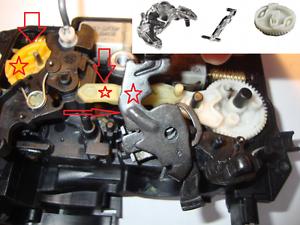 BMW E90 E91 E92 E93 F01 Cerradura de puerta Mecanismo de Cierre atrapar Kit De Reparación Delantero Derecho