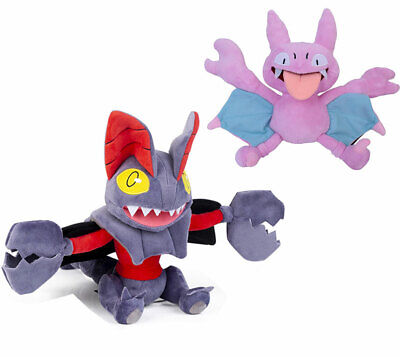 Set of 2 Pokemon Gligar and Gliscor Soft Plush Doll Stuffed Fiugre Toy Gift