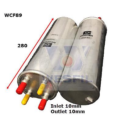 Fuel Filter for Volkswagen Transporter 2.0L TDi 2010-on WCF89 Z680
