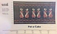 Creative Keepsakes Smocking Plate-pat-a Cake